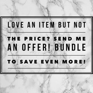 Other - Every time you bundle I'll send you my best offer!